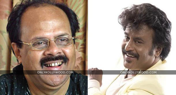 Photo of Rajinikanth in talks with Crazy Mohan?