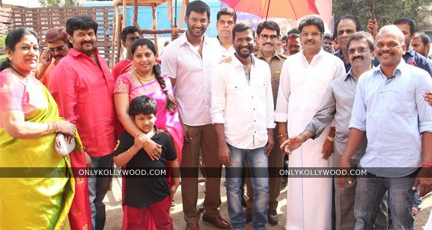 Photo of Vishal – Suseenthiran's next officially launched