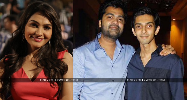 Photo of Simbu, Anirudh, Andrea and few others to perform live