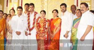 Producer SR Prabhu Wedding Photos