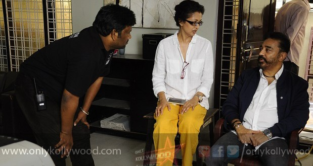 Thoongavanam Movie Working Stills copy
