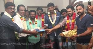 Vishal - Pandiraj Movie Launch Stills