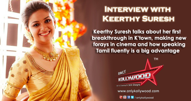 Photo of Interview with Keerthy Suresh – the hotshot sensation in K'town!