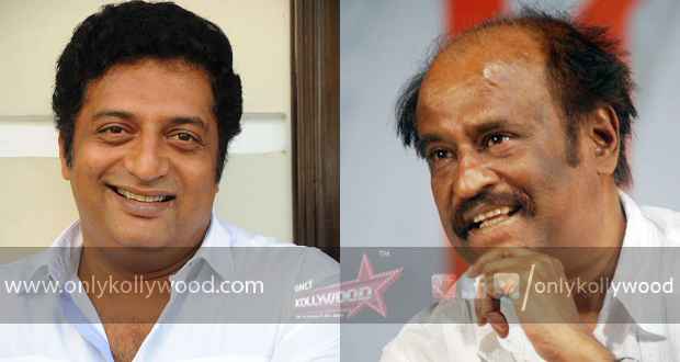 Photo of Prakash Raj to play a pivotal role in Rajinikanth's next