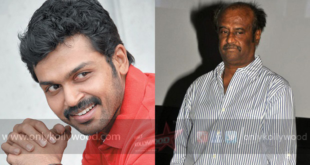 Photo of Karthi is upbeat about Rajinikanth 159