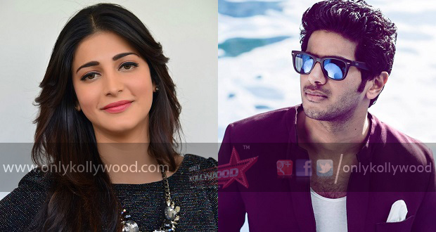 Shruthi Hassan dulquer copy