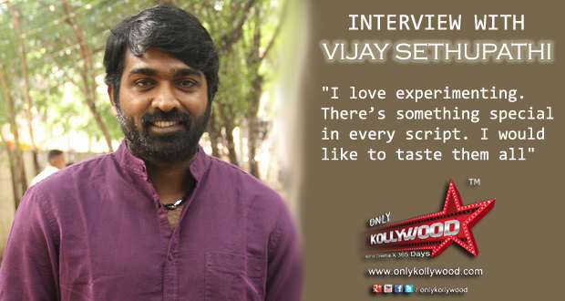 Photo of Interview with Vijay Sethupathi, the experimenter