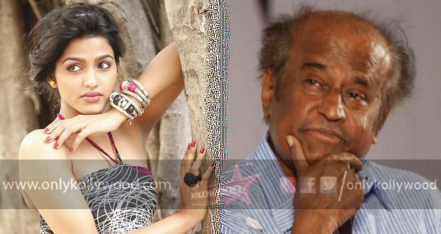 Photo of Rajinikanth and Dhansika spotted at Kabali shooting spot