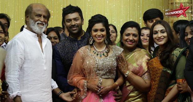 Shanthnu - Keerthi Wedding Reception Stills copy