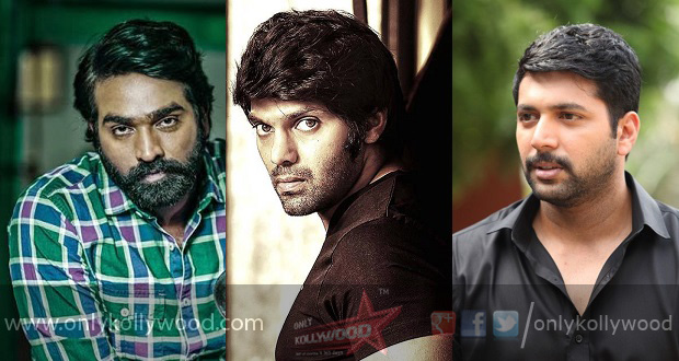Photo of Vijay Sethupathi and Arya in talks for Jayam Ravi's next
