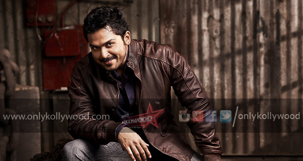 Photo of Karthi's strenuous makeup for a role in Kashmora