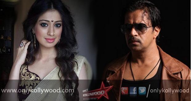raai laxmi - action king - arjun - thriller- arun vaidhiyanathan