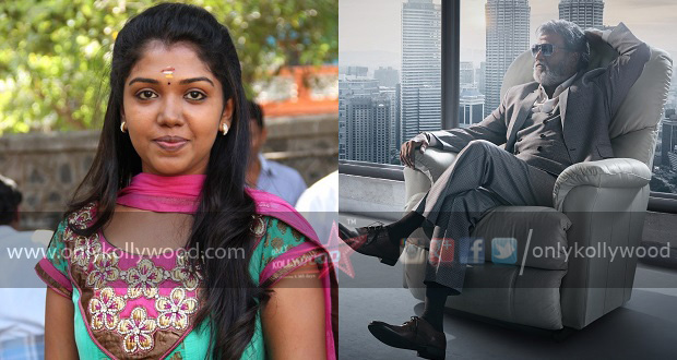 Photo of Madras fame Ritwika's emotional moment with Rajinikanth