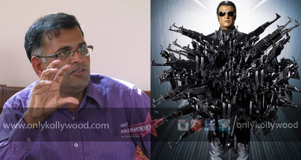 Photo of 2.o: Jeyamohan on Chitti and Akshay Kumar's characters