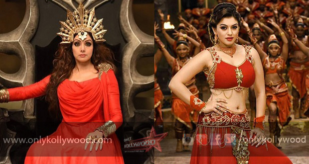 Sridevi Helped Me Tackle A Lot Of Difficult Scenes Says Hansika