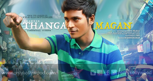Thanga Magan Dhanush -... Vijay In Thanga Magan Movie Stills