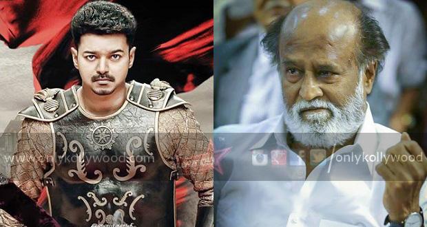 "Photo of ""Vijay's effort in Puli definitely deserves praise,"" lauds Rajinikanth"