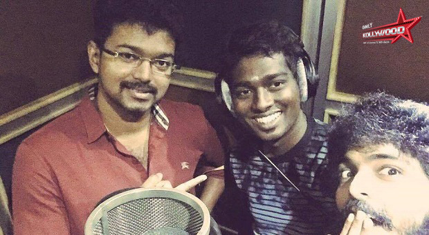 Photo of Vijay croons for 'Chellaa Kutty' in Vijay 59