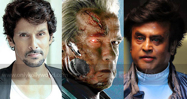 Photo of Vikram's reply to being part of Endhiran 2