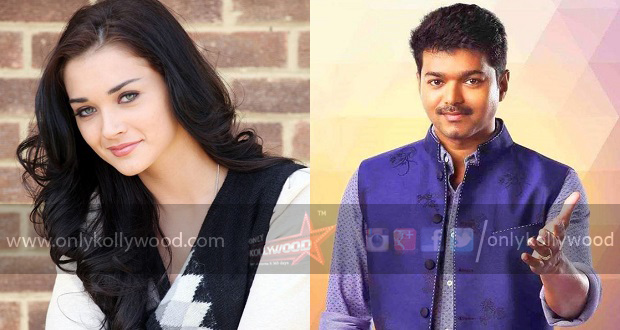 Photo of Amy Jackson joins Vijay 59