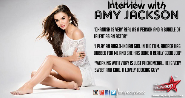 Photo of Interview with Amy Jackson – the dazzling diva!