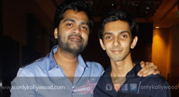 Photo of James Vasanthan's request to Simbu and Anirudh
