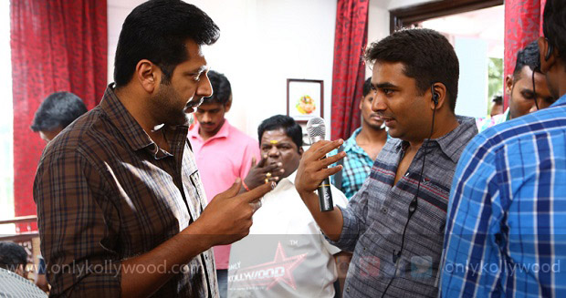 Miruthan Working Stills