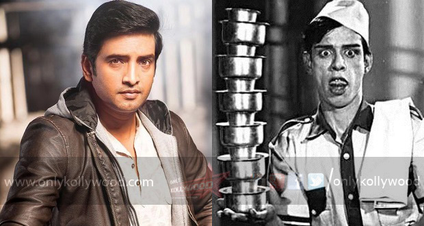 Photo of Nagesh's title for Santhanam's next