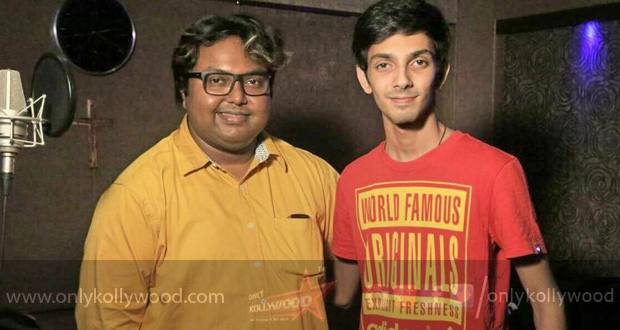 Photo of Anirudh records his third song for Imman