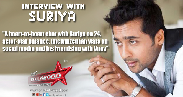 Photo of A heart-to-heart chat with Suriya!