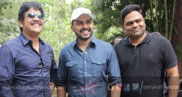 "Photo of ""Thozha offered me an experience of a K Balachander film,"" says Karthi"