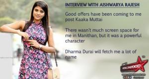 aishwarya rajesh interview