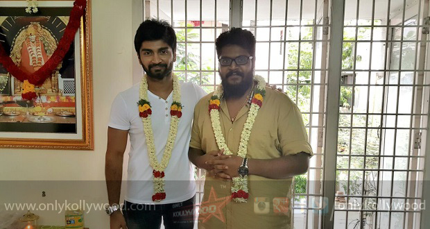 Photo of Atharvaa Murali teams up with Demonte Colony director next
