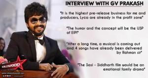 gv prakash interview copy