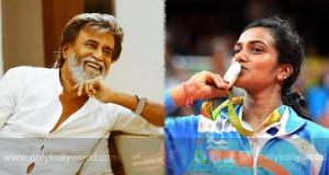 Our silver medalist Sindhu replies to Superstar Rajini copy