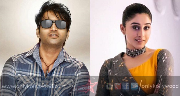 Photo of Regina Cassandra in talks to pair up with Santhanam