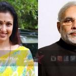 Gautami meets Narendra Modi to plan 'Yogathon'