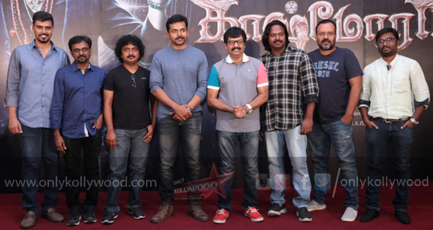 Kaashmora Press Meet Stills