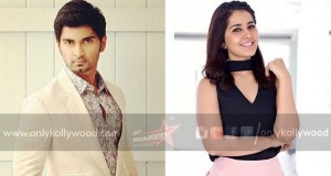 Raashi Khanna paired opposite Atharvaa in Imaikkaa Nodigal