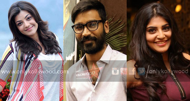 Dhanush to romance Kajal Aggarwal and Manjima Mohan in NEEK