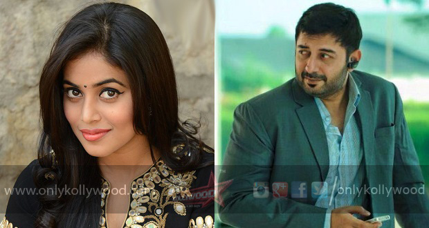 Poorna to play Arvind Swami's wife in Sathuranga Vettai 2