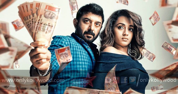 Trisha and Arvind Swami start shooting for Sathuranga Vettai 2