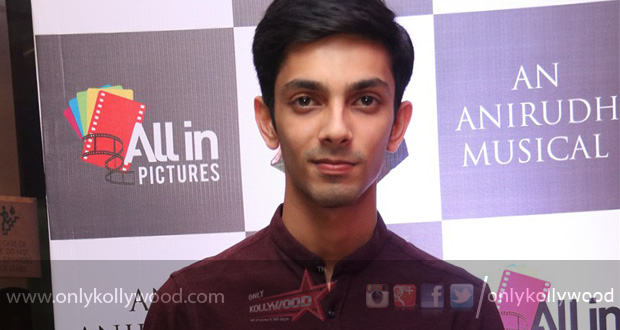 """Photo of """"I am scared of horror movies,"""" says Anirudh"""