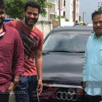 prabhudeva gifted audi car to vijay for devi success
