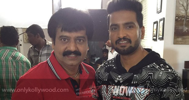 Photo of Santhanam, Vivek team up for 'Sakka Podu Podu Raja'