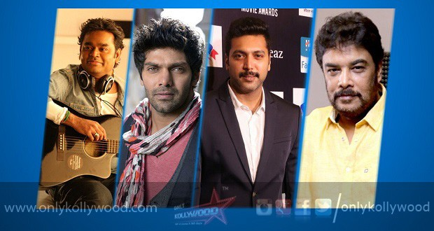 Arya and Jayam Ravi team up for Sundar C's mega-budget Sangamithra