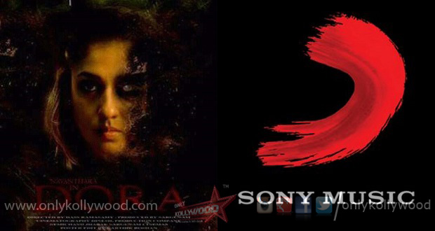 Sony Music India secures audio rights of Nayanthara's Dora - Only