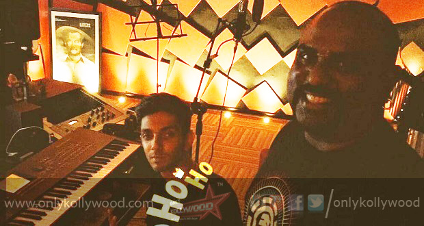 Thala 57 Popular Hip-Hop singer Yogi B records a song for Anirudh