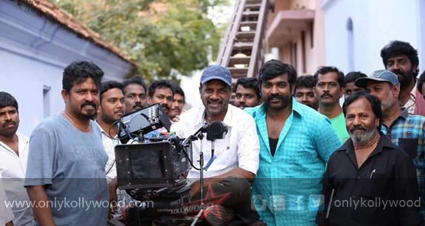 Photo of 70-day straight schedule for Vijay Sethupathy's Karuppan