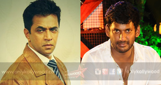 Photo of Action King Arjun pitted against Vishal in Irumbu Thirai